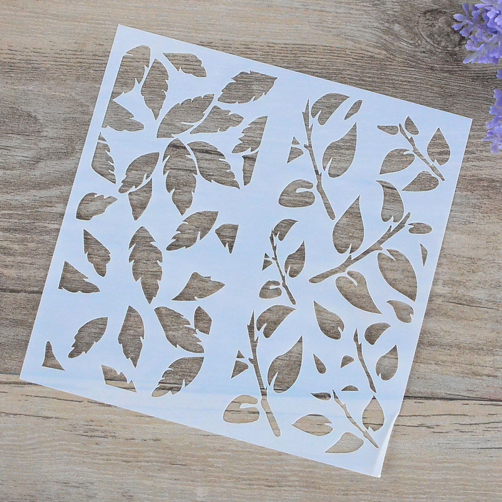 Leaves stencils for walls images home wall decoration ideas online get cheap leaves stencils for wall aliexpress diy craft leaf layering stencils for walls painting amipublicfo Images