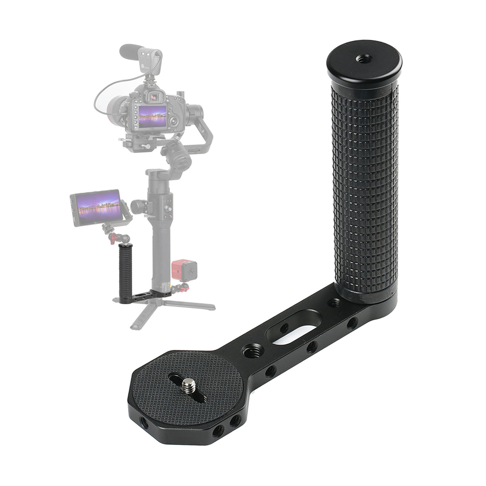 Gimbal Accessories L Bracket Stand Handle Grip With 3/8 1/4 Thread For Zhiyun Crane 2 DJI Ronin S Weebill LAB Stabilizer