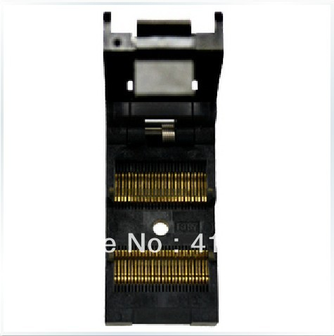 Import block adapter IC51-0562-1387 adapter TSOP56 test, burn original plcc44 to dip40 block adapter block cnv plcc mpu51 test convert burn