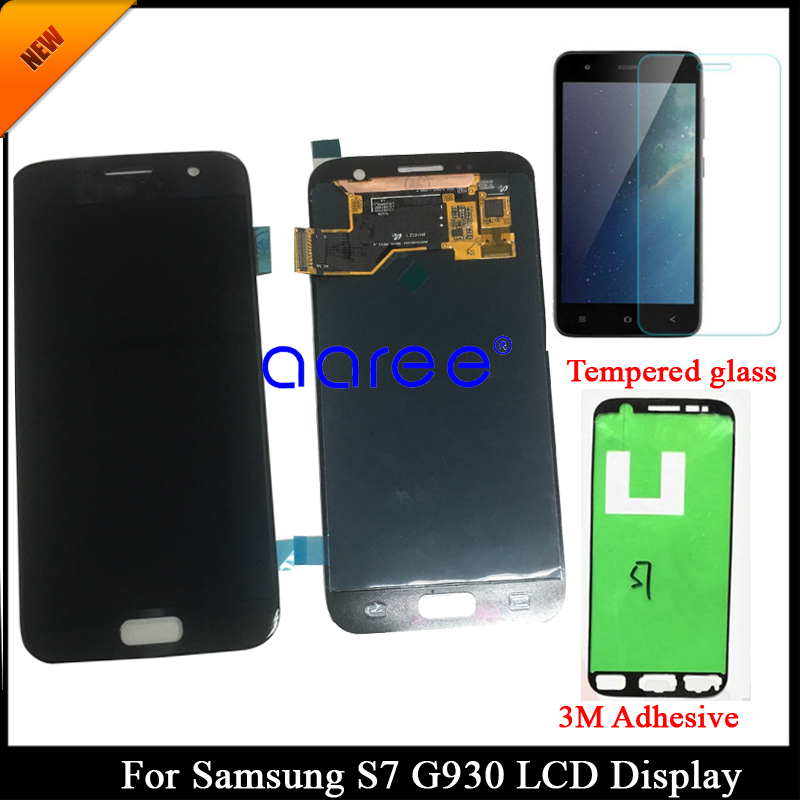 5 1 Super AMOLED LCD For Samsung S7 LCD Display S7 LCD G930A G930F G930V G930T