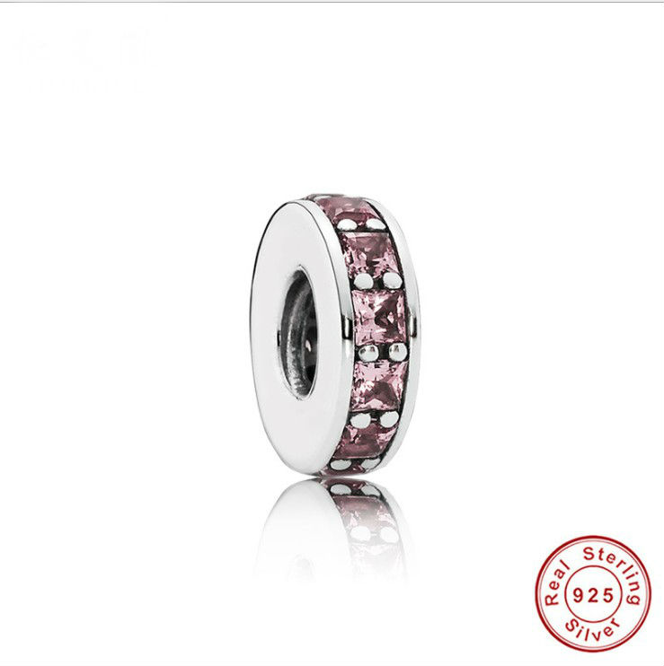 Изящные Ювелирные изделия, подлинное серебро 925 пробы, маленькая прошивка, вдохновляющее ожерелье, браслет, сделай сам, бусы, подходят для по...