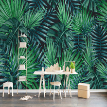 3D Plants Printed Photo Wallpapers