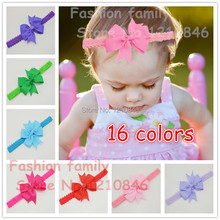 Baby Bow Headband Hair Bowknot lace Headbands Infant Hair Accessories Girls grosgrain ribbon Bow Headband Toddler hair bands