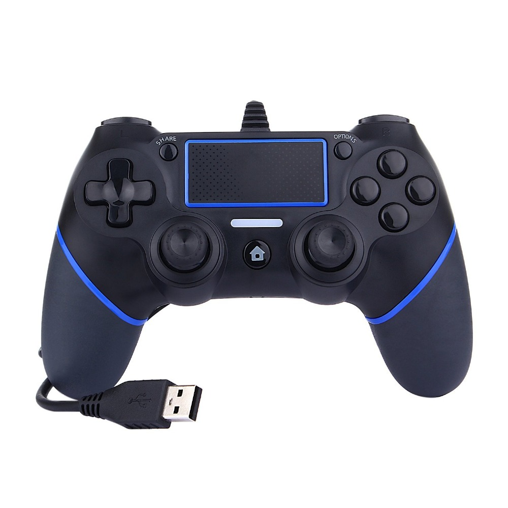PS4 USB Wired Game Controller For Sony PlayStation 4