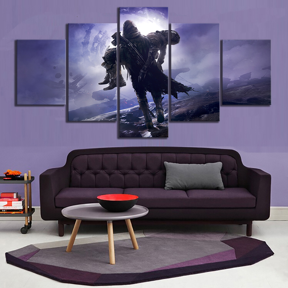 Destiny 2 Game Poster HD Wall Painting Canvas Art For Home