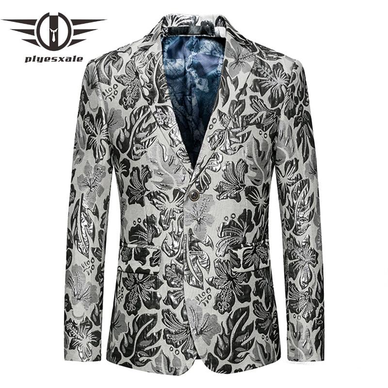Men's Clothing Blazer Men 2017 Stage Costumes Men Gold Silver Suit Jacket Fashion Singer Suit Blazer Masculino Slim Fit Coat Mens Blazer Jacket Elegant And Sturdy Package
