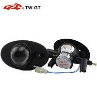 TW GT 2.5 Inch hid bi xenon foglamp projector lens foglight DIY H11 for HONDA ACCORD CIVIC CROSSTOUR FIT JAZZ SHUTTLE FREED