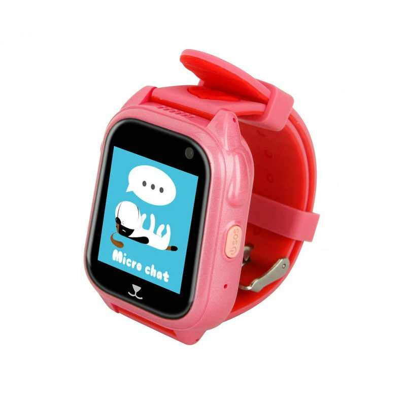 Color Touch Screen M06 Smart Watch Child GPS Phone Positioning 1.44 inch IP67 Waterproof For Children Q90 Smart Baby Watch