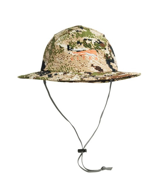 f80b3d4e2 US $28.07 28% OFF|2017 Men Women Spring Summer Sitka Sun Hat Camouflage  Solar Cap Quick dry Adjustable Removable strap One size lightweight -in Sun  ...