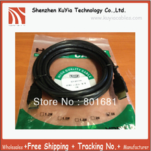 KUYiA High Speed 3M HDMI 1.4 Cable M/M Full HD 1080P 3D Cord for PS3 Xbox DVD HDTV + Free Shipping
