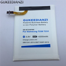 GUKEEDIANZI EB-BT230FBE Tablet Li-ion Replacement Battery 4200mAh Strong Endurance For Samsung GALAXY Tab 4 Nook SM T230 T231(China)