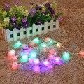 5 M 26LED Multi-color Cono de Pino Árbol Boda la Fiesta de Navidad de Secuencia de Hadas de Luz A Prueba de agua Al Aire Libre Jardín Decoración Luz FULI