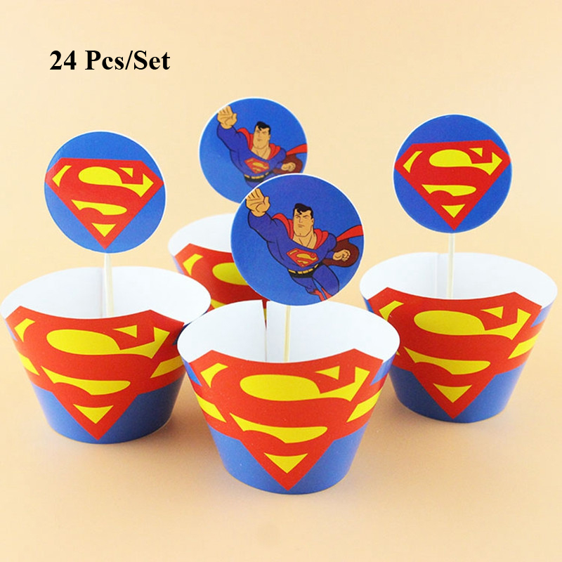 Super Baby Boy Birthday Cake Topper Cake Decorating Superman Party Funny Birthday Cards Online Bapapcheapnameinfo