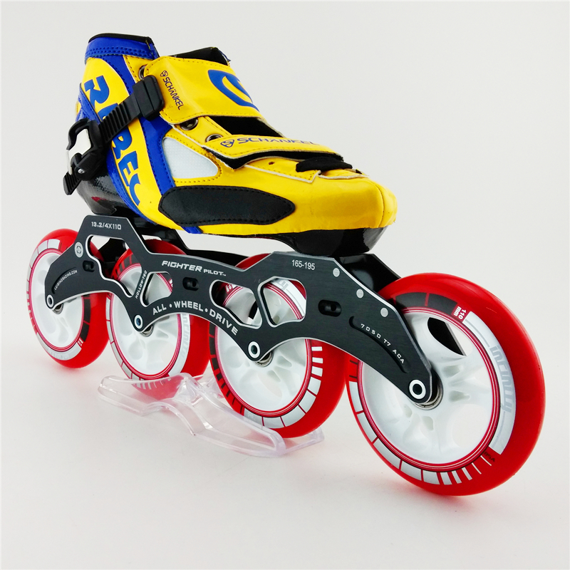 Prix pour Haute Qualité Professionnelle Adultes Vitesse Patin À Roulettes, quatre Roue De Patinage de Sport Skate Chaussures Pour Hommes inline skate chaussures