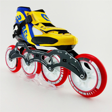 High Quality Professional Adults Speed font b Roller b font Skate Four Wheel font b Skating