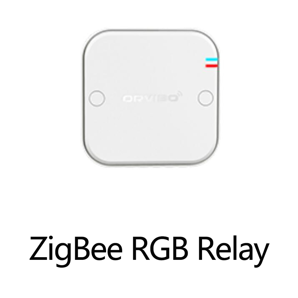 Orvibo ZigBee RGB Relay Box adjust the color and intensity of the light HomeMate APP SUPPORTED