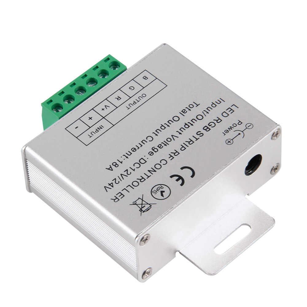 Télécommande sans fil d'écran tactile de RF pour la lumière de bande de Led de rvb DC 12 V/24 V