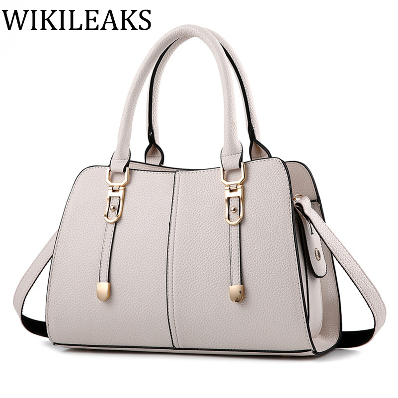 Famous Brand 2017 Leather Channel Fake Wome Messenger Hand font b Bag b font font b