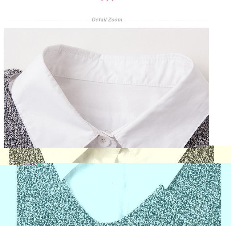 split large size sweaters women 6XL asymmetrical long sleeve 2017 - Women's Clothing - Photo 2