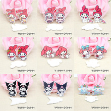 2019 Mixed Resin Charms Rabbit Charm For Rubber Band Hair Pin Brooch Decoration 10PCS