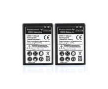 2X Phone Replacement 1500mAh Battery Bateria For Samsung Galaxy Ace S5830 Gio S5660 S5670 Pro,B7510,i569,i579