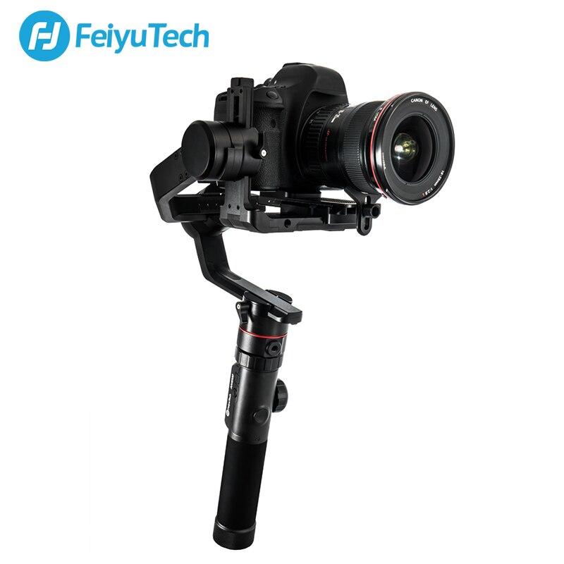 FeiyuTech AK4000 3-Axe Poignée Cardan DSLR stabilisateur de caméra pour Panasonic GH5 Canon 5D Mark III Nikon D850 SONY 4.0 KG Charge Utile