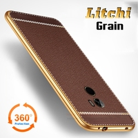 Luxury Litchi Lines Painting Case For Xiaomi Mi Mix 6 4 Slim Plating TPU Soft Business