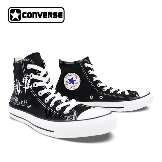 ccbf765b97bd ... coupon code for all star converse mens womens shoes anime black butler  contract symbol custom design ...