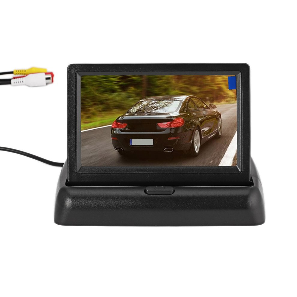 Auto-Reversing-Assistance-Kit Camera Parking-System Rear-View Folding-Display Car-Backup