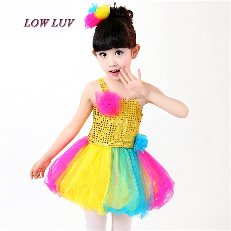 Children 's Performance Dress Girls' Dresses Dance Dresses Jazz Dance Kindergarten Performance Clothing
