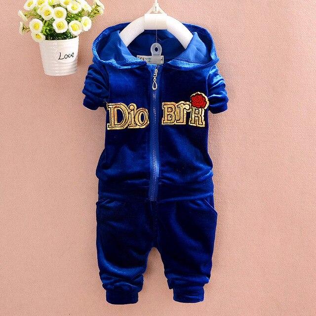 b5e86851e children s boys clothing sets infant boy velvet sweat suit newborn ...