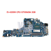 NOKOTION ZIYY2 LA B111P MAIN BOARD For Lenovo Ideapad Y50 Y50 70 Laptop Motherboard I5 4200H CPU GTX860M 2GB Video card