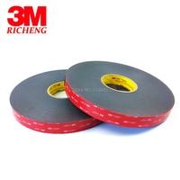 1Roll/Lot 3M VHB 5952 Heavy Duty Double Sided Adhesive Acrylic Foam Tape Black 10MMx33Mx1.1MM