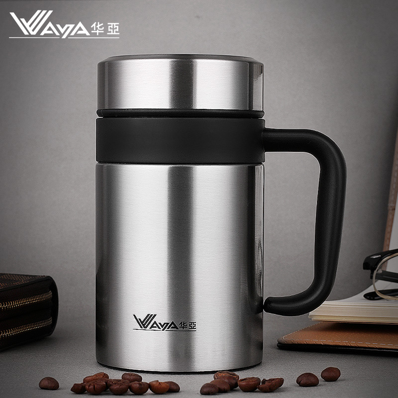 Thermos Cup Stainless Steel Coffee Mug with tea infuser ...