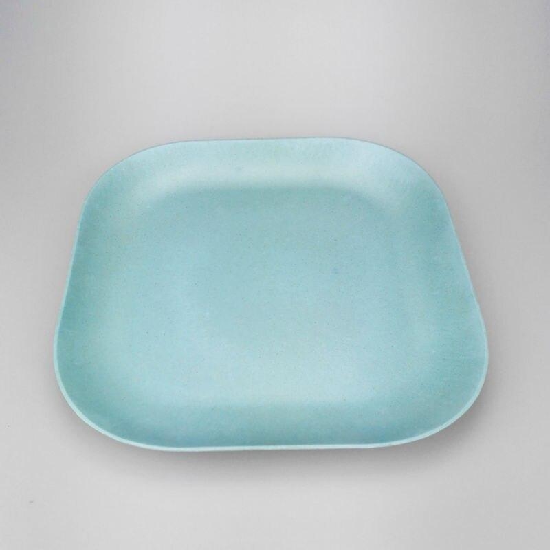 ... 18-7 ... & 6pcs Bamboo fiber wooden dinner plates home kitchen dinnearware ...