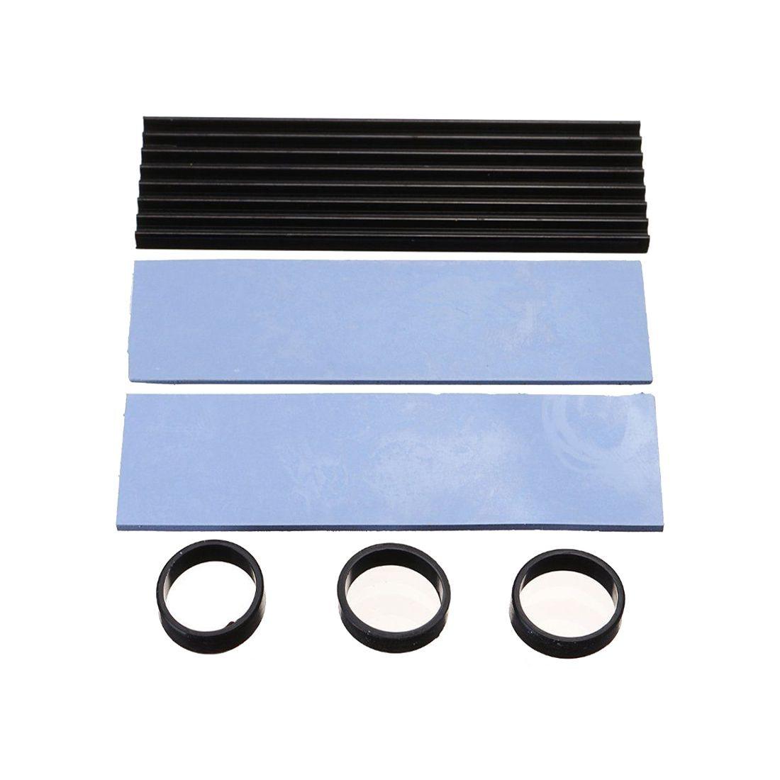 Лидер продаж-раковина тепловыделения Алюминий охлаждения для SM961 960PRO M.2 NGFF NVMe 2280 SSD