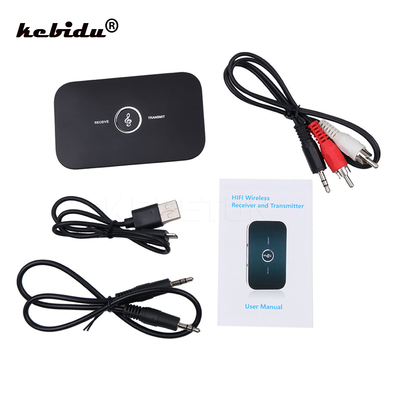 Funkadapter Kebidu Neue 2 In 1 Bluetooth 4,1 Audio Sender Empfänger Hifi Wireless A2dp Aux 3,5mm Musik Sound Konverter Für Tablet Lautsprecher Tragbares Audio & Video