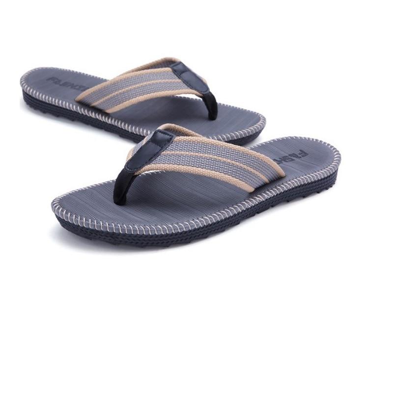 cc4c8aa577cecb Qualité Pantoufles La Hommes Femmes Tongs kaki bourgogne D'été Foncé Air  Flip Flops De Mode Plein ardoisé En Chaussures Sandales Plus Taille Plage  ...