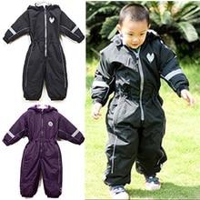 kids/children/boys/girls autumn/winter waterproof, windproof jumpsuit, ski overalls, black, burgundy, high quality (MOQ: 1pc)