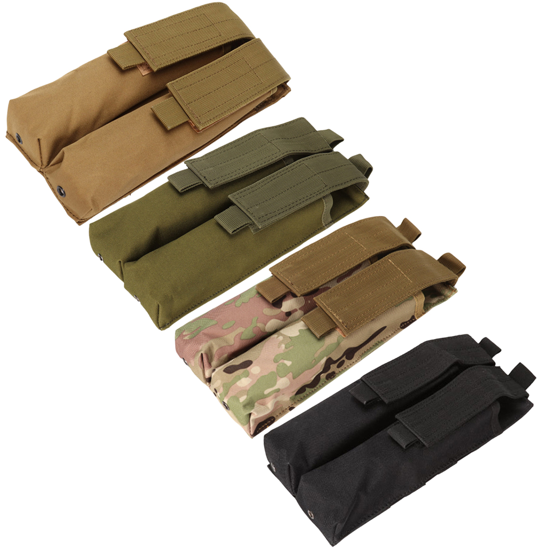 Molle Magazine Pouch for P90 Magazine and Worker short darts Magazine   Camouflage-in Paintball Accessories from Sports & Entertainment