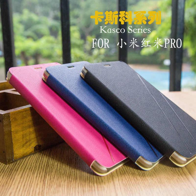 Италия Высокое качество кожаный чехол для Xiaomi Redmi Pro откидная крышка телефона В