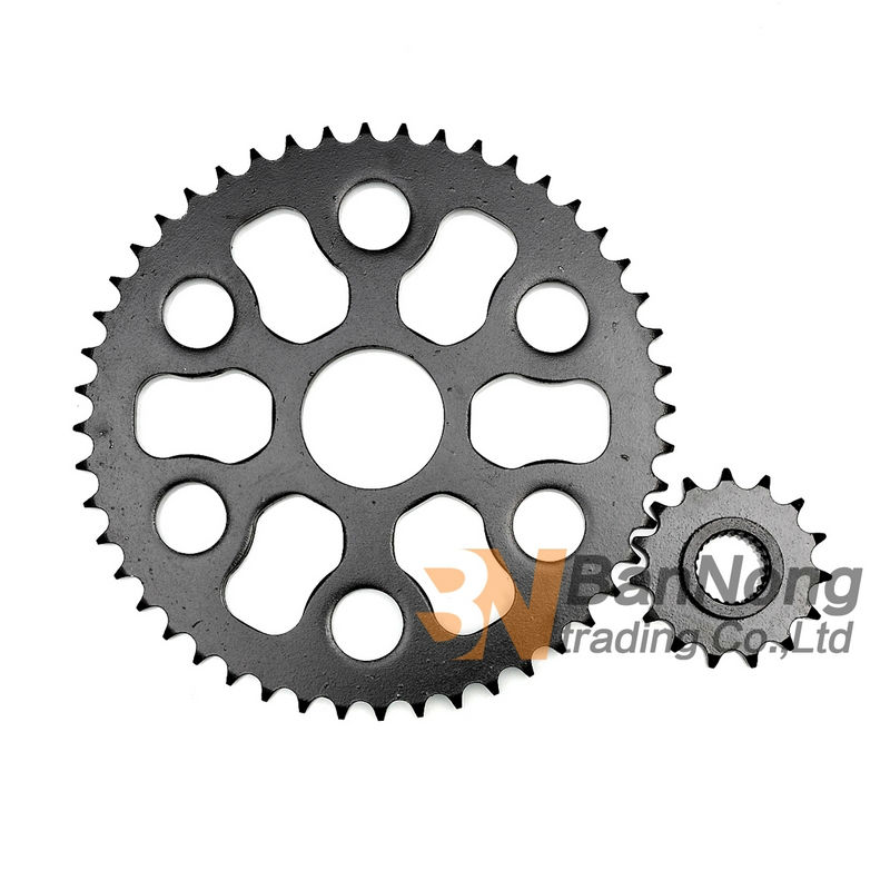 Free shipping Dirt motorcycle Front&Rear Chain Sprocket geartransmission Fits For Yamaha Tricker XG250 (428) 428h chain rear sprocket 37 tooth 58mm diameter for crf50 xr50 dirt pit bike motorcycle motocross 428 gear fit 10inch rear wheel