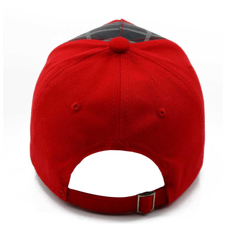 חדש סתיו תינוק ילד ילדה כובע ספיידרמן רקמת קריקטורה תינוק כותנה אביב בייסבול Caps ילדים Snapback ירך הופ כובעים