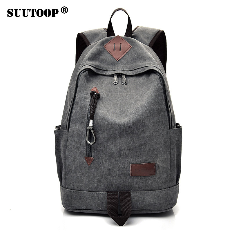 Men's <font><b>bags</b></font> Fashion Travel Male Backpack <font><b>Canvas</b></font> <font><b>Unisex</b></font> Sports School <font><b>bag</b></font> Pack for Teenage Boys Bookbag <font><b>Mochila</b></font> Bolsas <font><b>Escolar</b></font> image