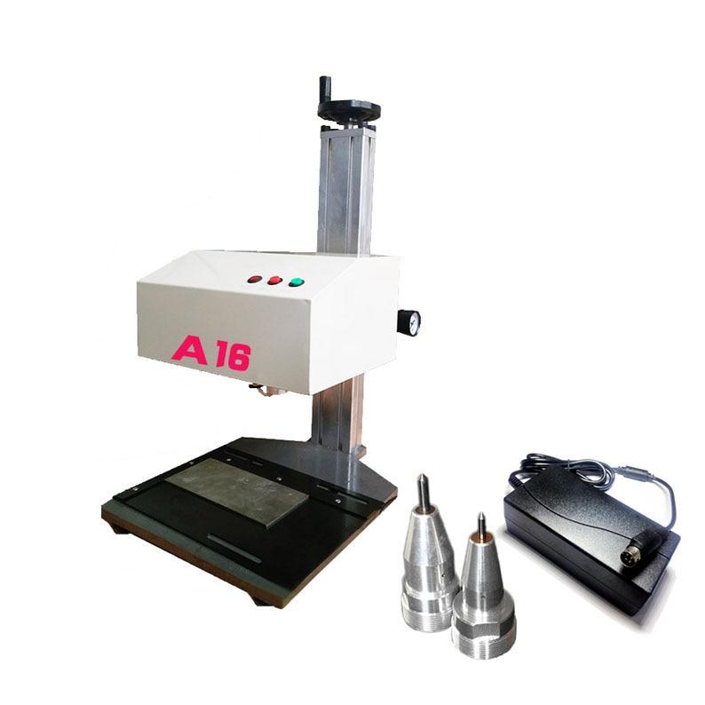 Metal Pneumatic Marking Machine Engraving Machine 140*80mm For VIN Code Stainless steel ID card Industrial Nameplate automatic metal nameplate marking machine