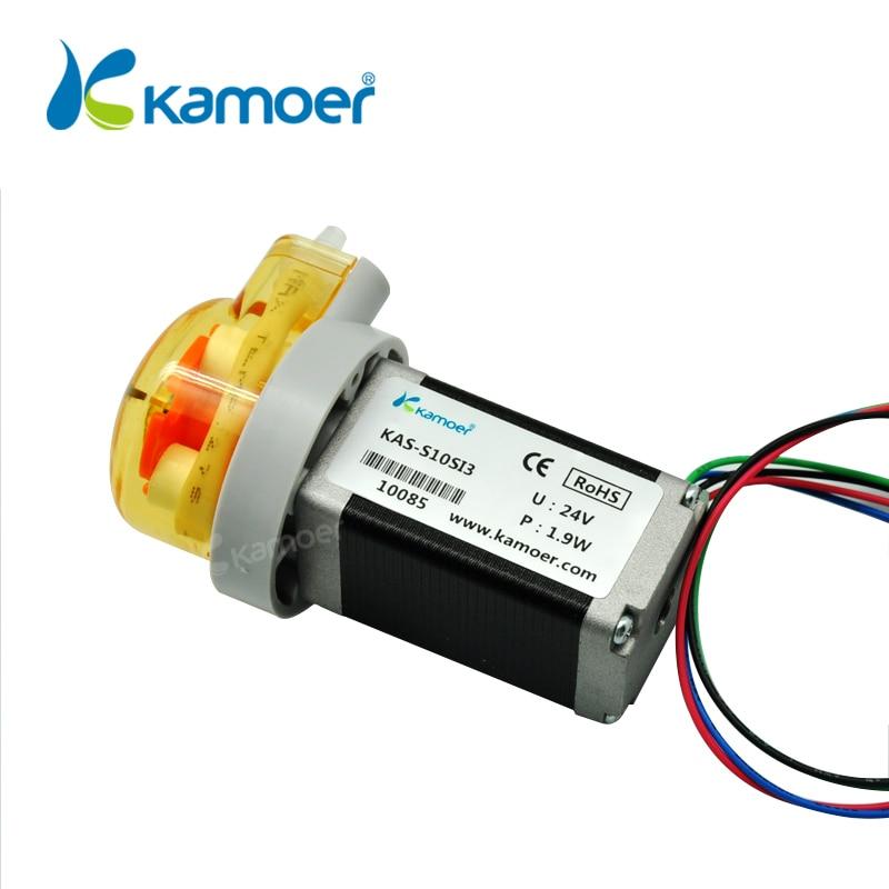 Kamoer KAS Peristaltic Pump 12V Stepper Motor Water Pump (Free Shipping, PCB Control Support, Precise Control, Digital Control) kamoer digital peristaltic pump dispenser