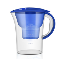 Water filter pitcher Purifier Water Pitcher Household Kettle Kitchen Tap and Filter Kettle with Cartridge Water Filter