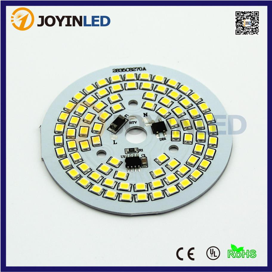 High Power Runs directly on AC220V 9W12W 15W LED smd pcb Compact driverless light engine smd pcb module Fitting