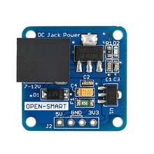 DC Jack Power 7~12V to DC 5V / 3.3V Step-down Converter Voltage Regulator Power Supply Module for breadboad and Arduino