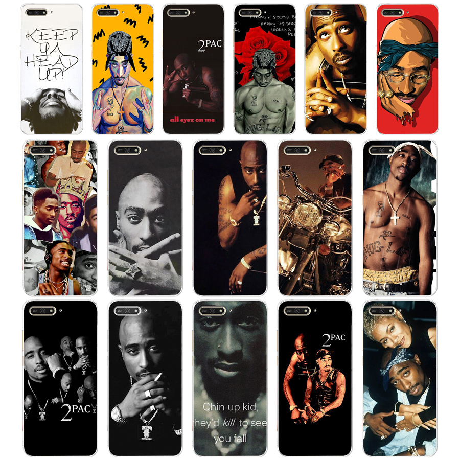 200a Tupac Amaru Shakur Makaveli Soft Silicone Tpu Cover Case For Huawei Honor 7a Pro 7x Play 5.45 5.7 Inch Case Fashionable(In) Style;